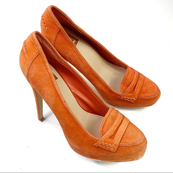 Dolce Vita Shoes - Dolce Vita Orange Suede Pumps Size 8.5
